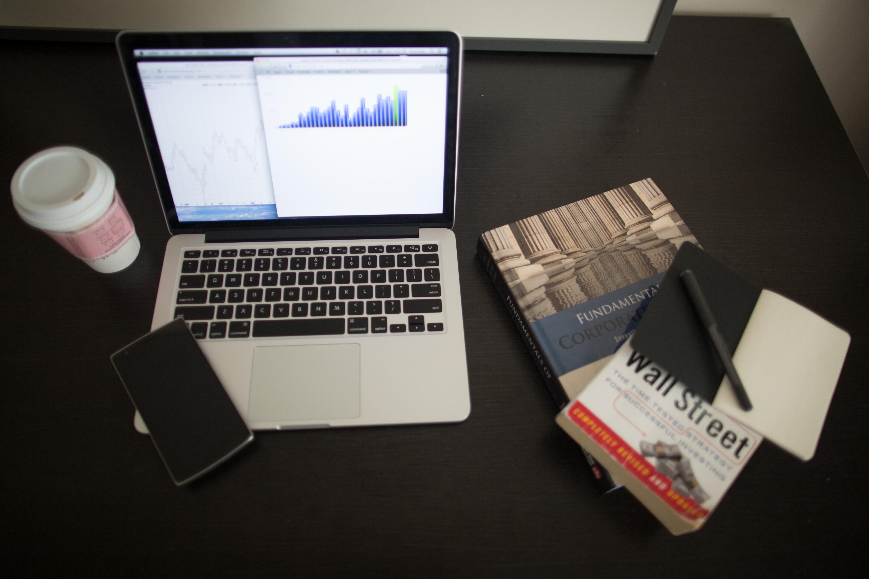 Smart Charts Stocks: Free stock photo of books business charts,Chart