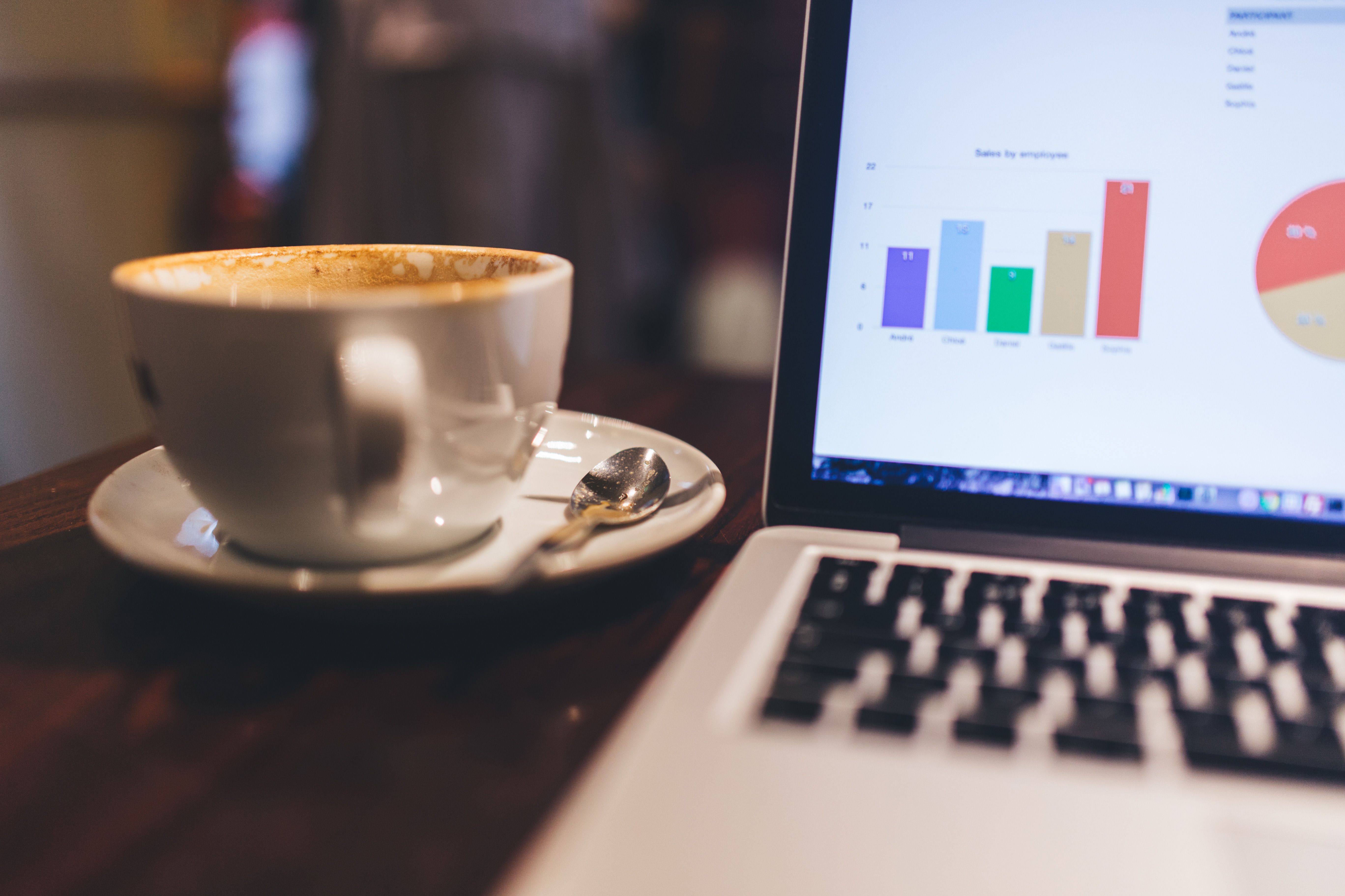 Custom Stock Charts: Free stock photo of business café charts,Chart