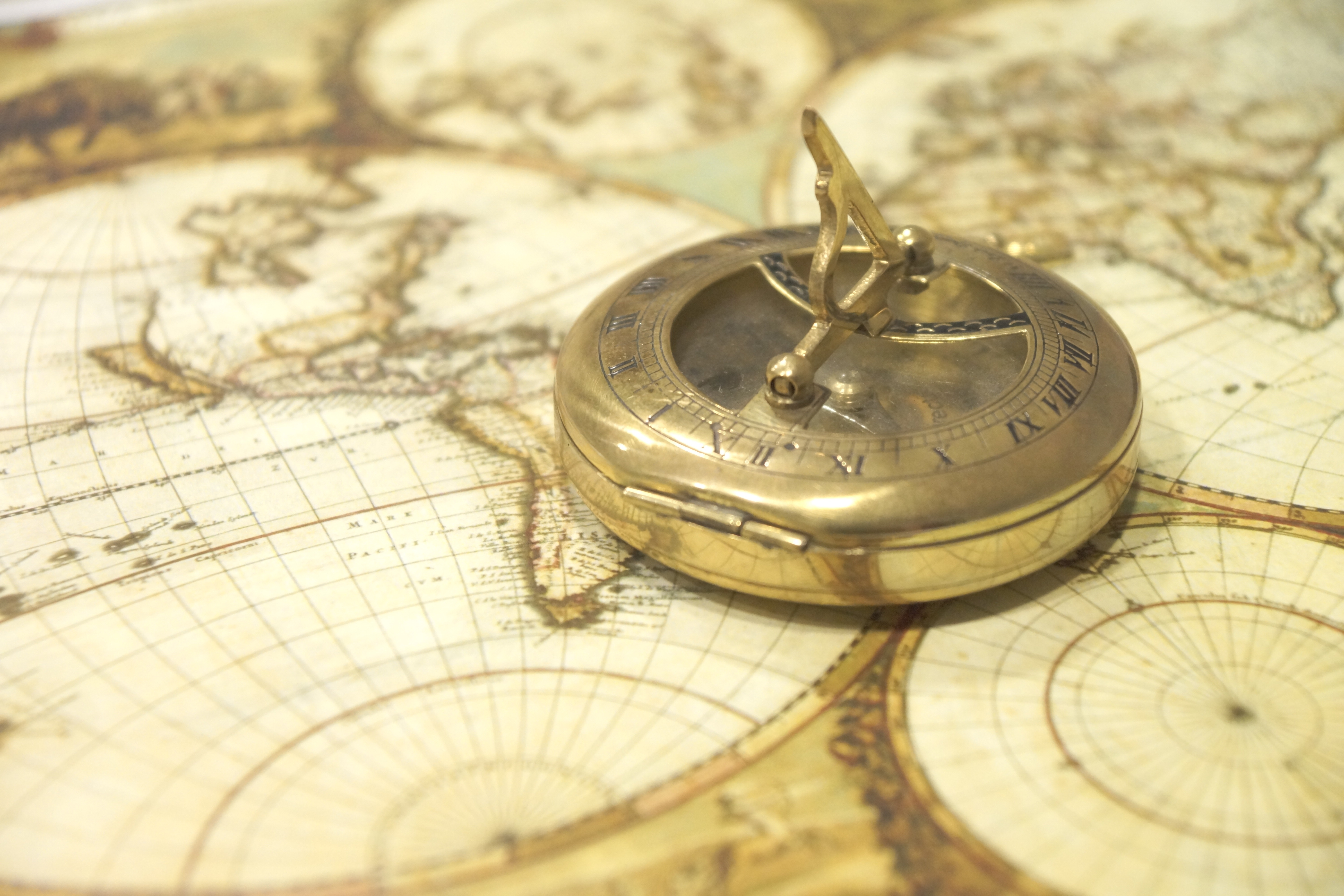 Free Stock Photo Of Antique Compass Direction - Antiques us maps with compass