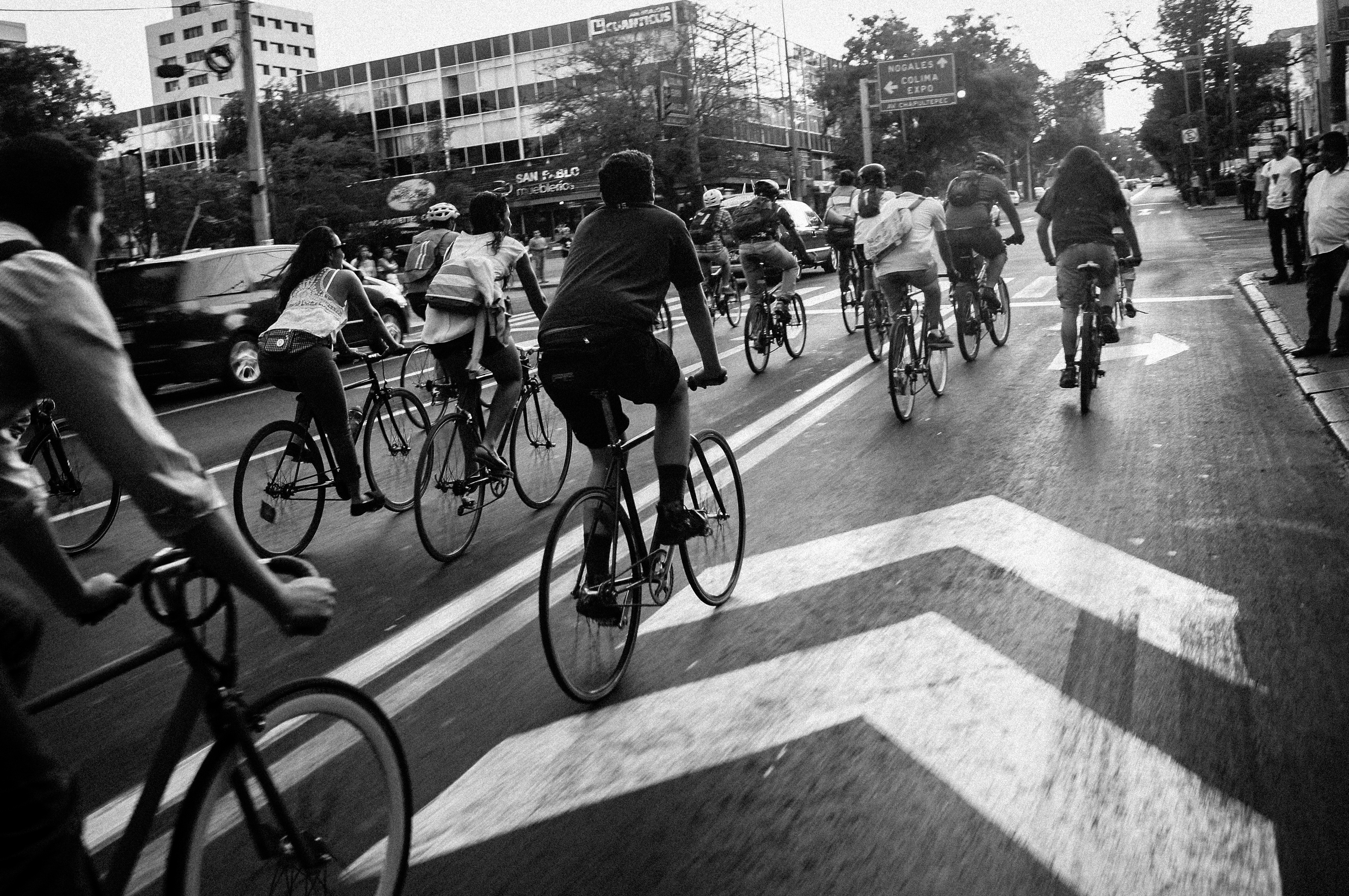 Free Stock Photo Of Bicycles Bikers Bikes
