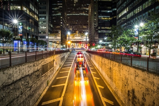 Free stock photo of light, city, cars, traffic
