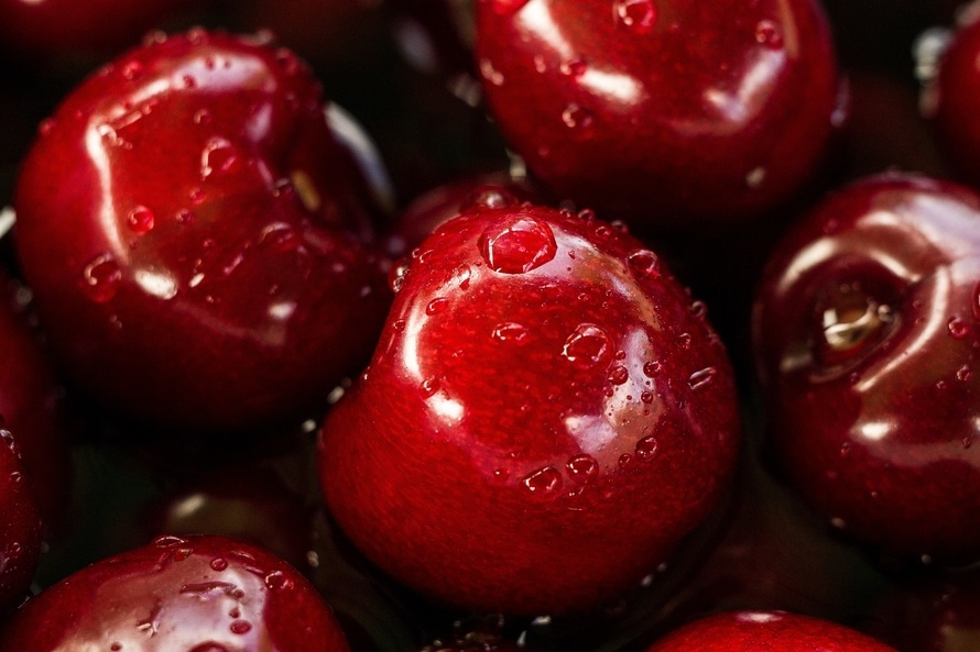 free stock photo of cherries fruits healthy