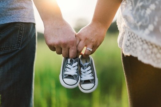 Free stock photo of couple, love, shoes, pregnancy