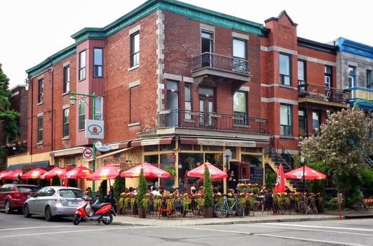 Free stock photo of cars, restaurant, street, building