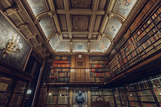 Free stock photo of books, library, royal