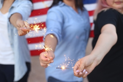 Free stock photo of party, fire, new year's eve, united states of america