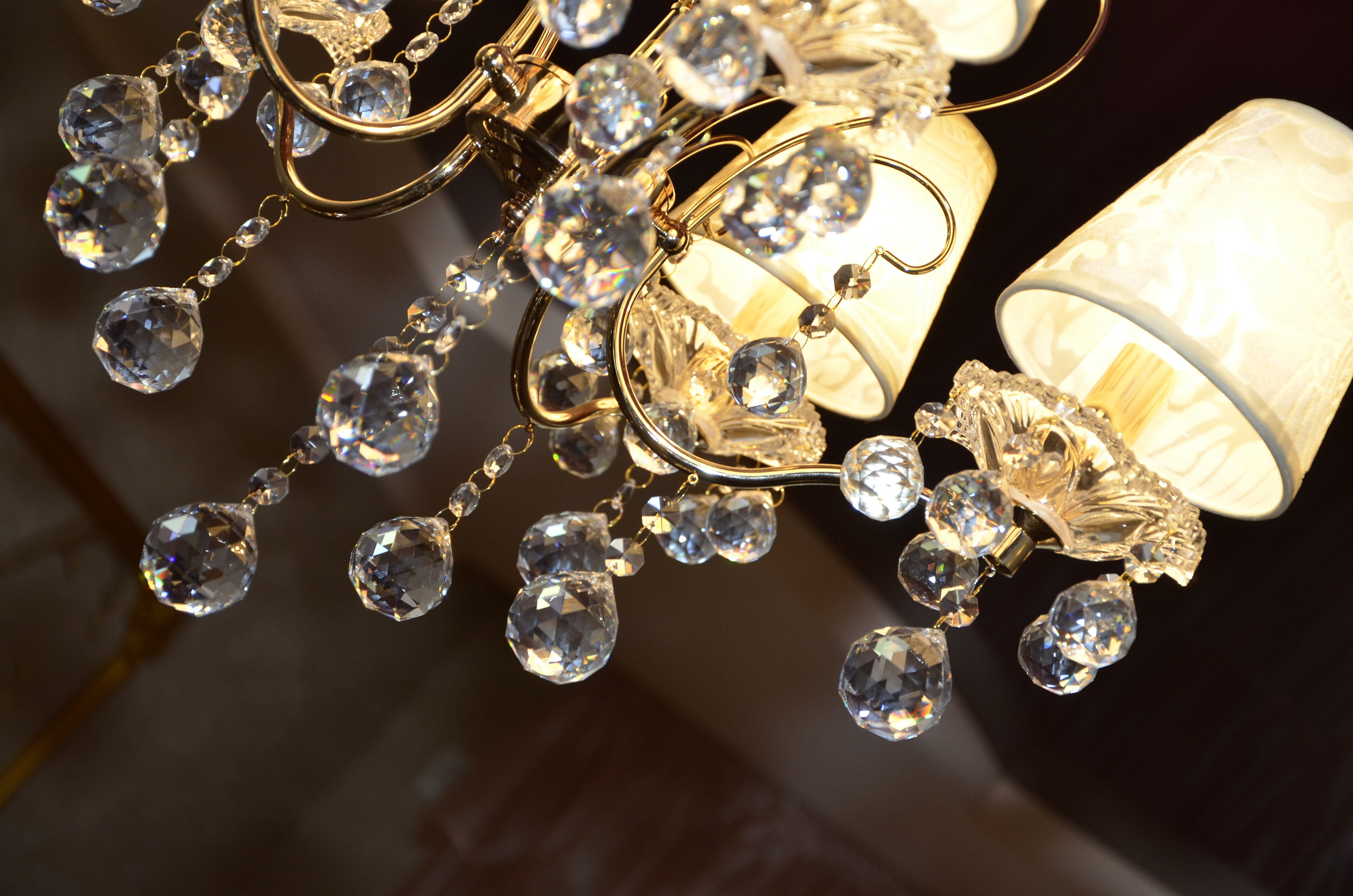 Free stock photo of antique chandelier classic