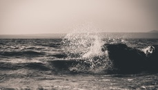 sea, water, wave