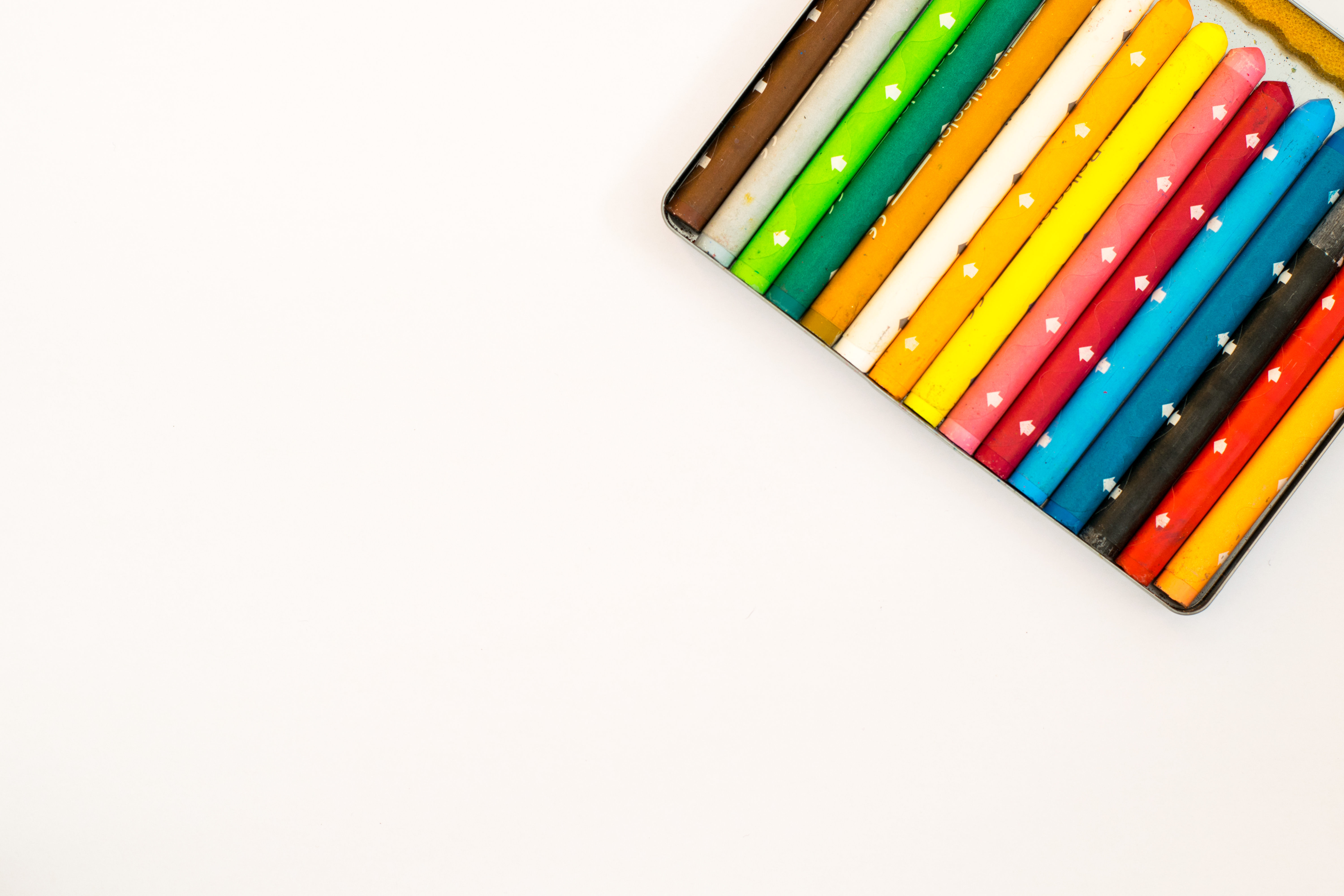 free stock photos of color pencil · pexels, Powerpoint templates