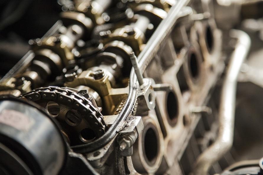 Brown Metal Engine