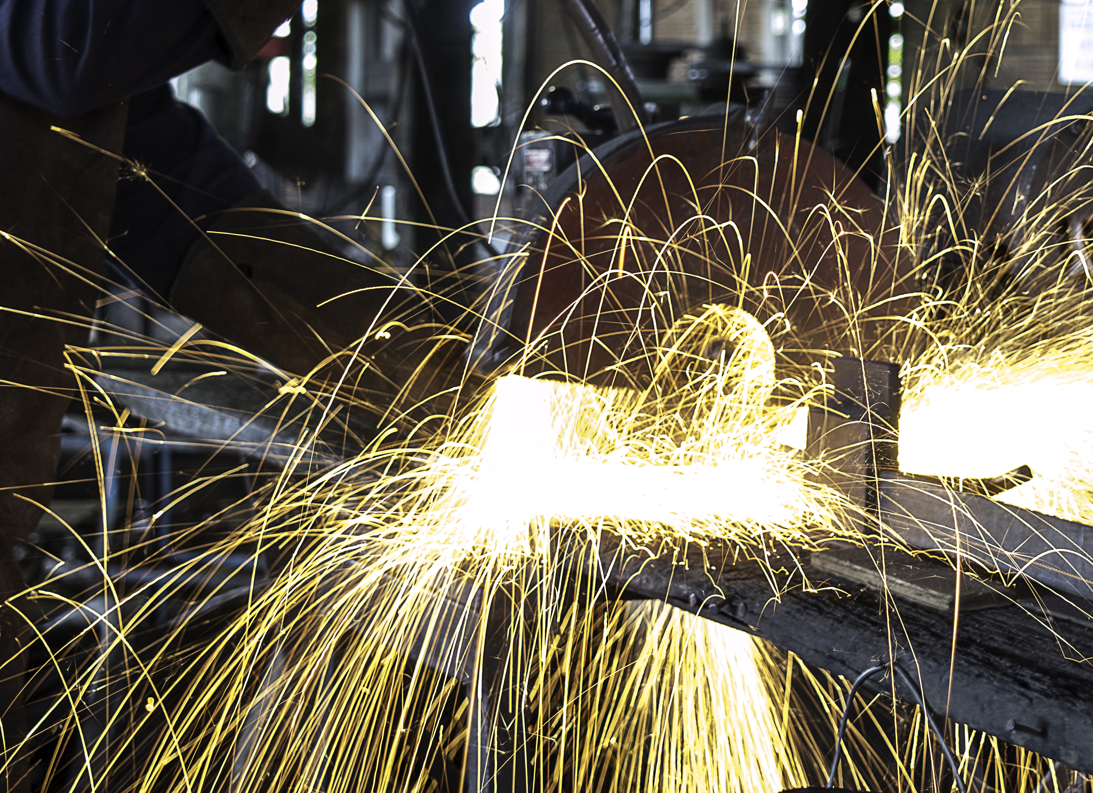 Free Stock Photo Of Long Exposure Sparks Welding