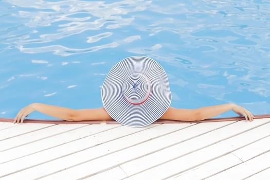 Free stock photo of person, blue, summer, relaxing