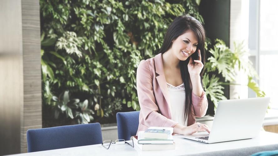 businesswoman, calling, career