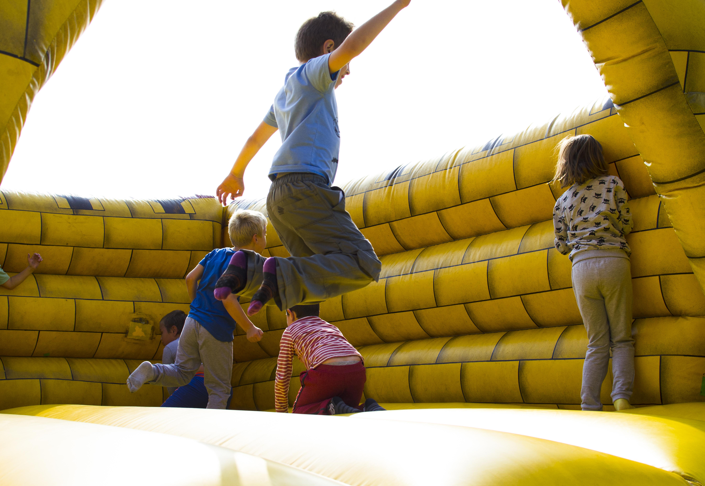 bouncy castle kid monsterball amusement