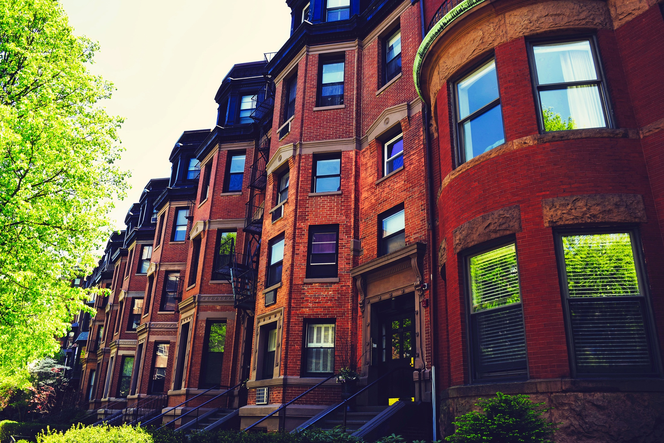 Free stock photo of apartments, architecture, boston