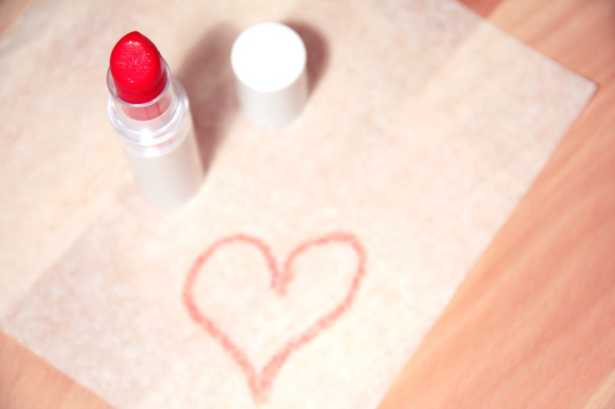 love, heart, makeup