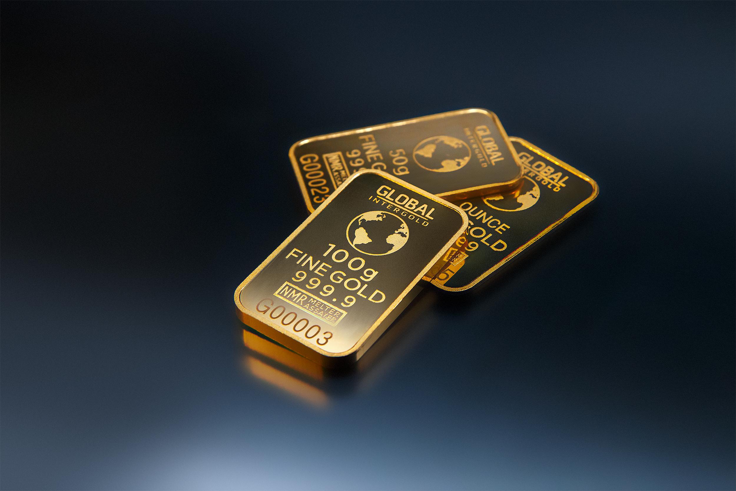 gold bar black background - photo #24