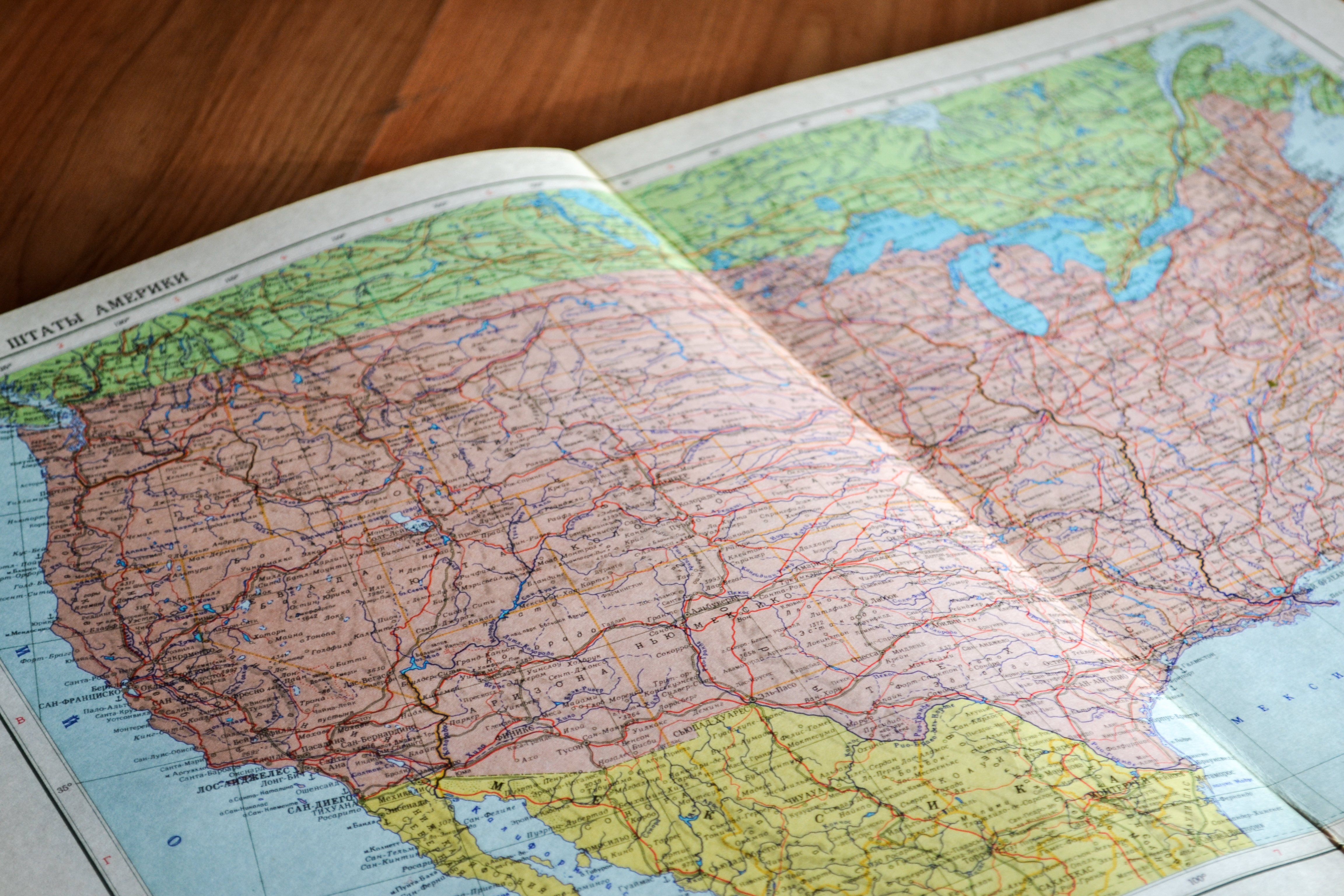 Map Images Pexels Free Stock Photos - Free paper us map