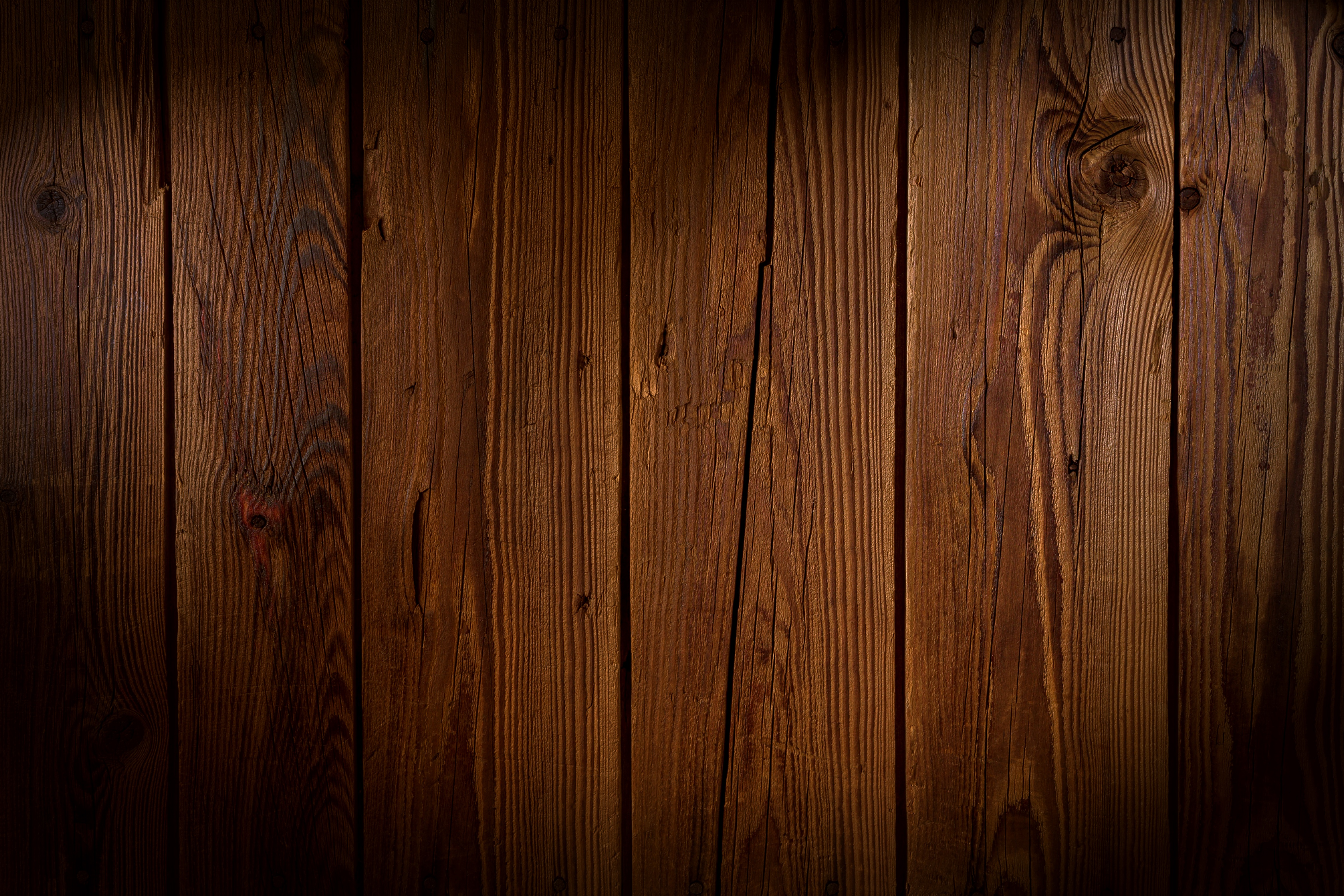 Wood Plank Background ~ Macro shot of wooden planks · free stock photo