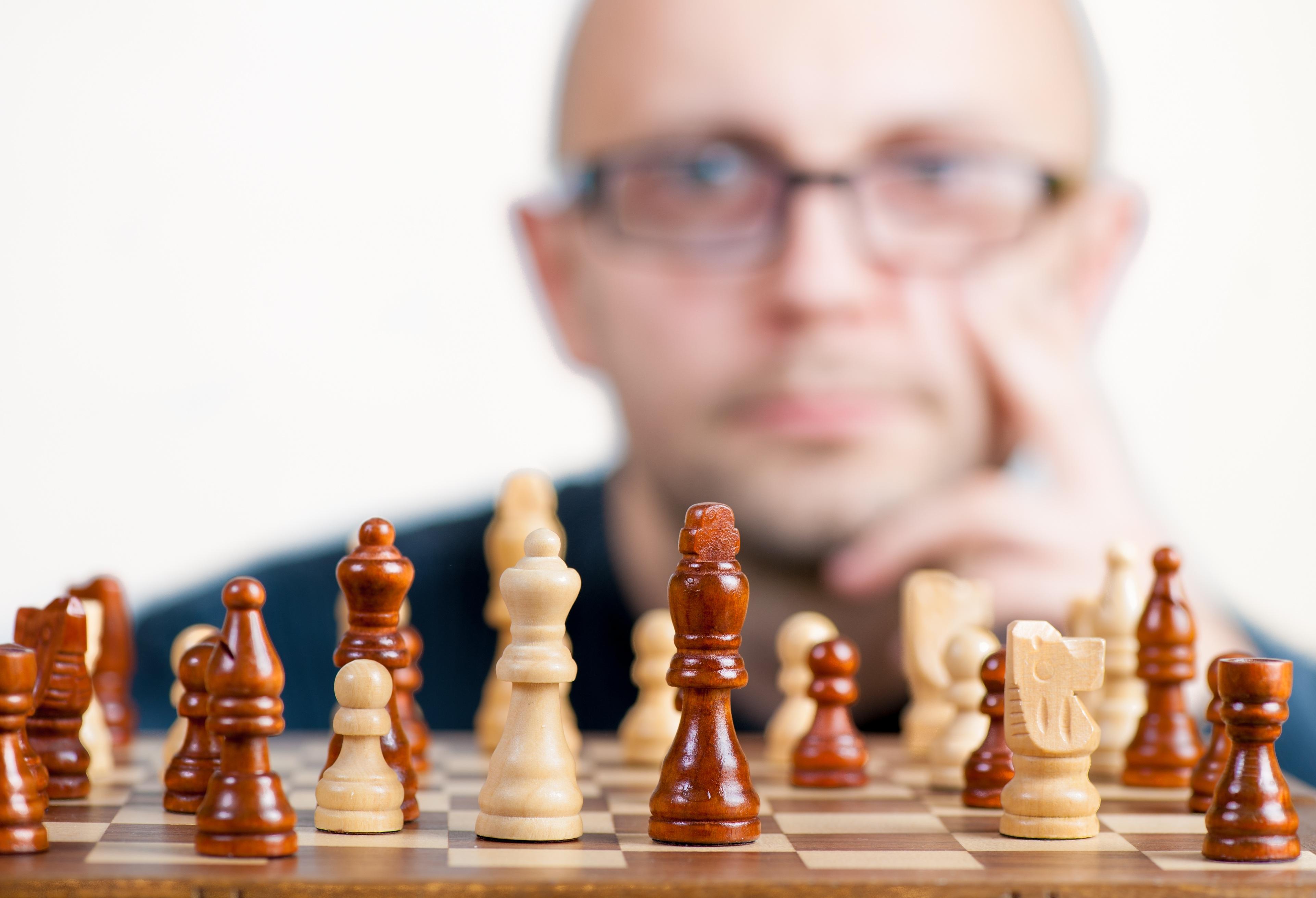 Man Playing Chess · Free Stock Photo
