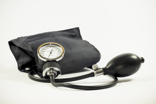 Black Sphygmomanometer