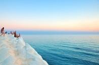 sea, sunset, holiday