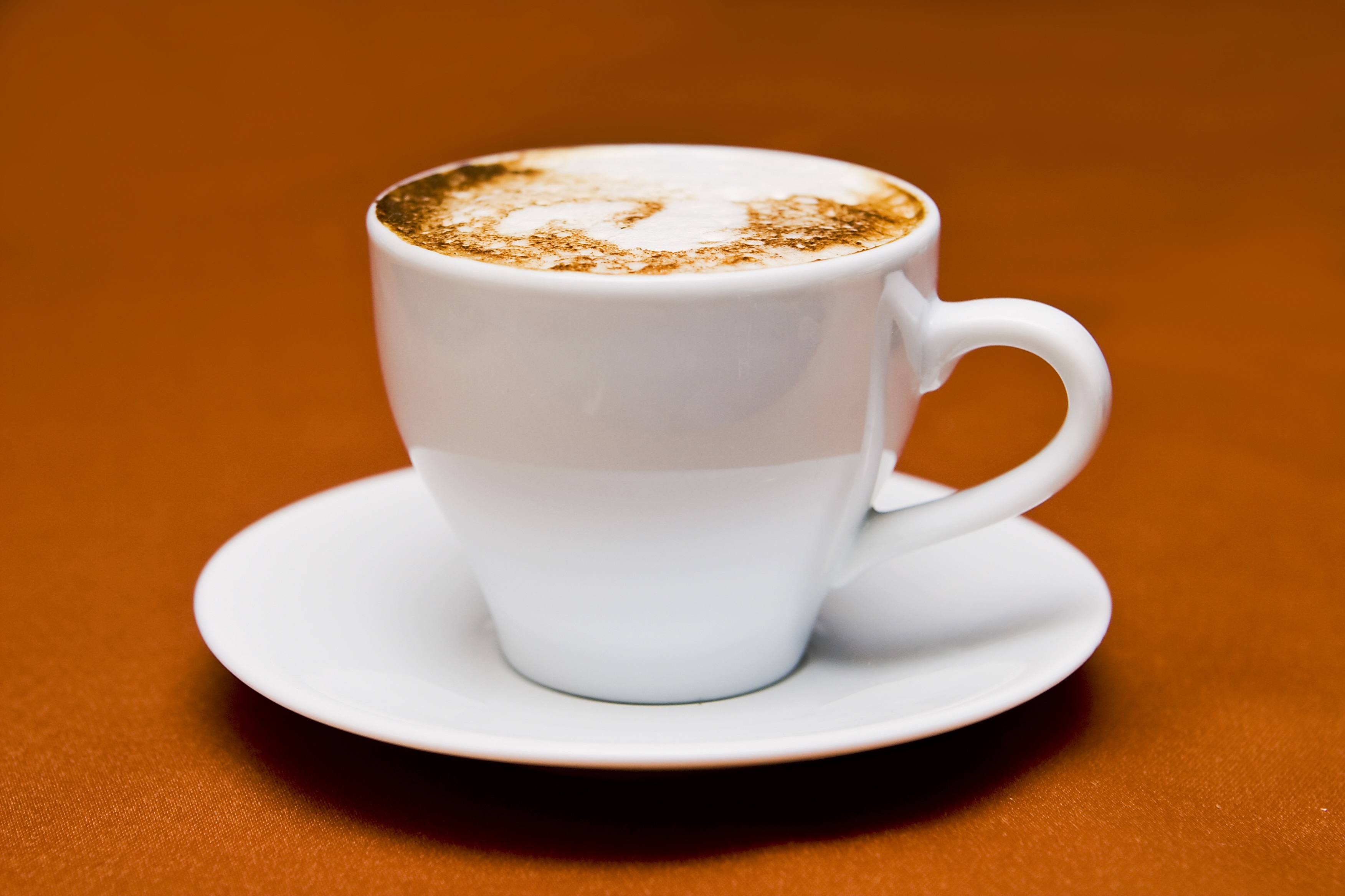 White Ceramic Cup on White Ceramic Saucer · Free Stock Photo