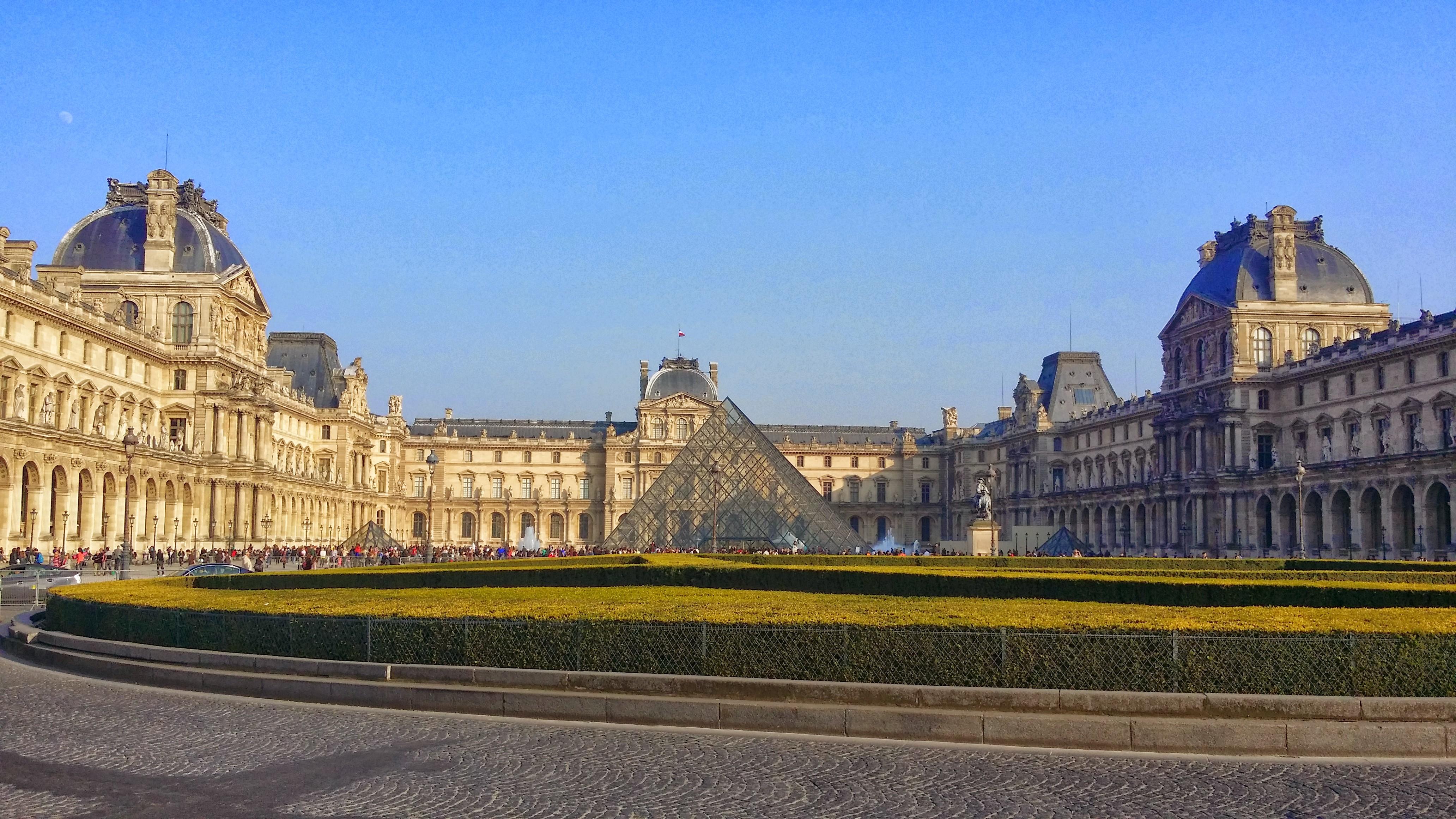 Free stock photo of louvre mus e du louvre palais du louvre - Les jardins du louvre ...