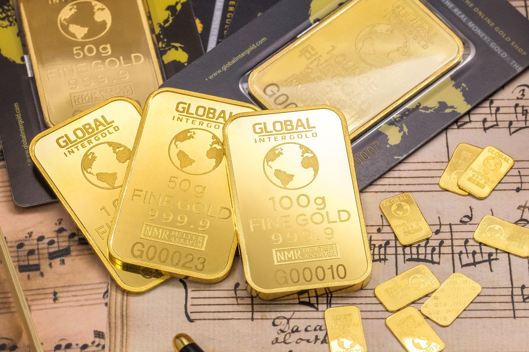 Gold Stock Market Chart: Free stock photo of bank bars business,Chart
