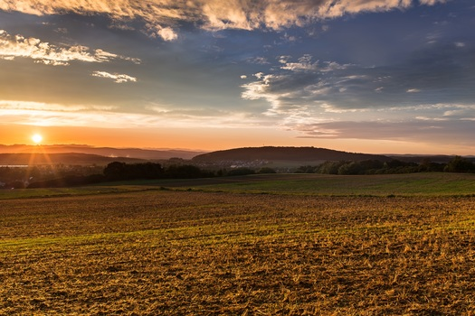 Free stock photo of landscape, sunset, sun, sunrise