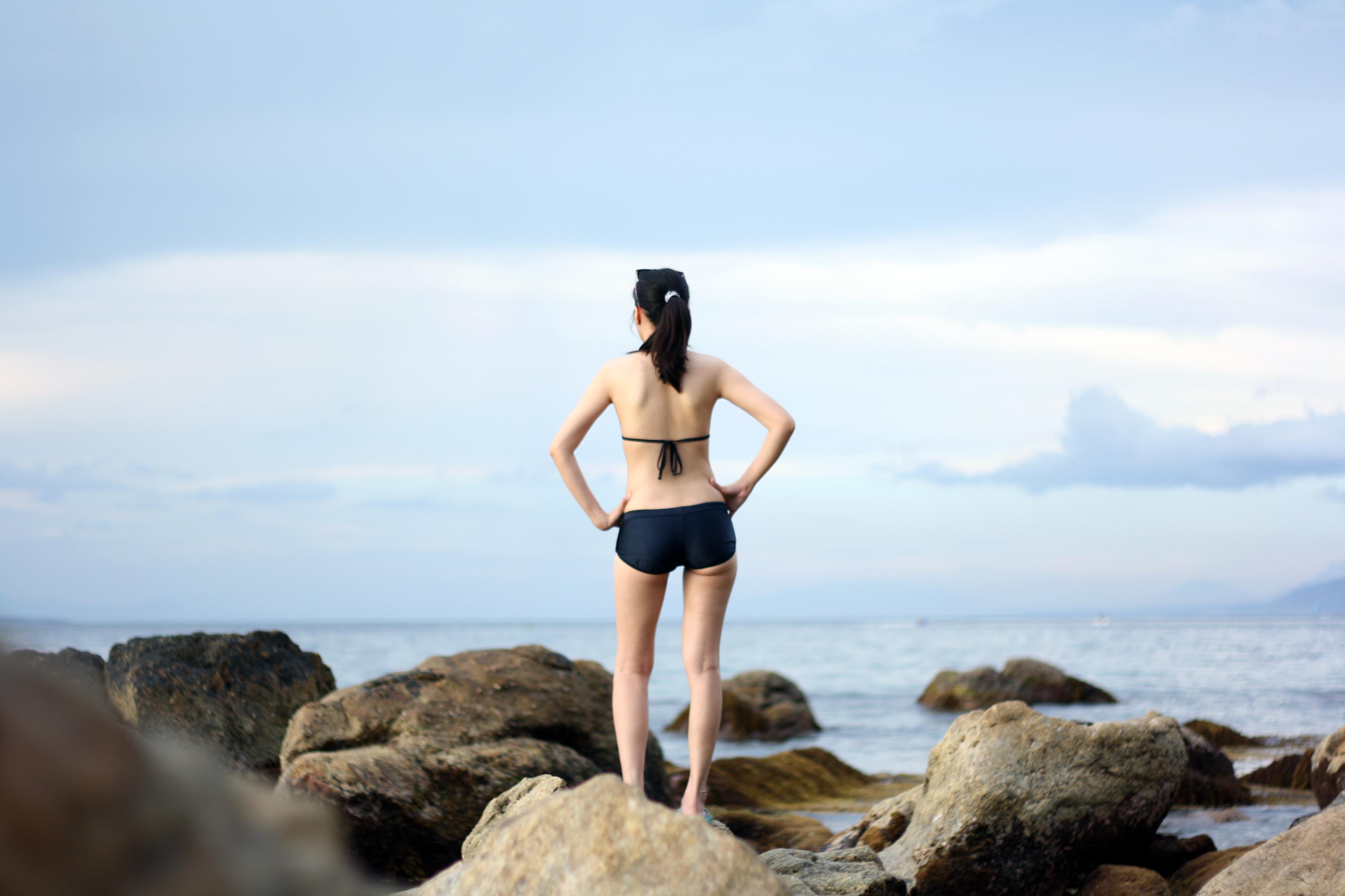 Free stock photo of beach, holiday, vacation: https://www.pexels.com/photo/woman-girl-beach-bikini-34448
