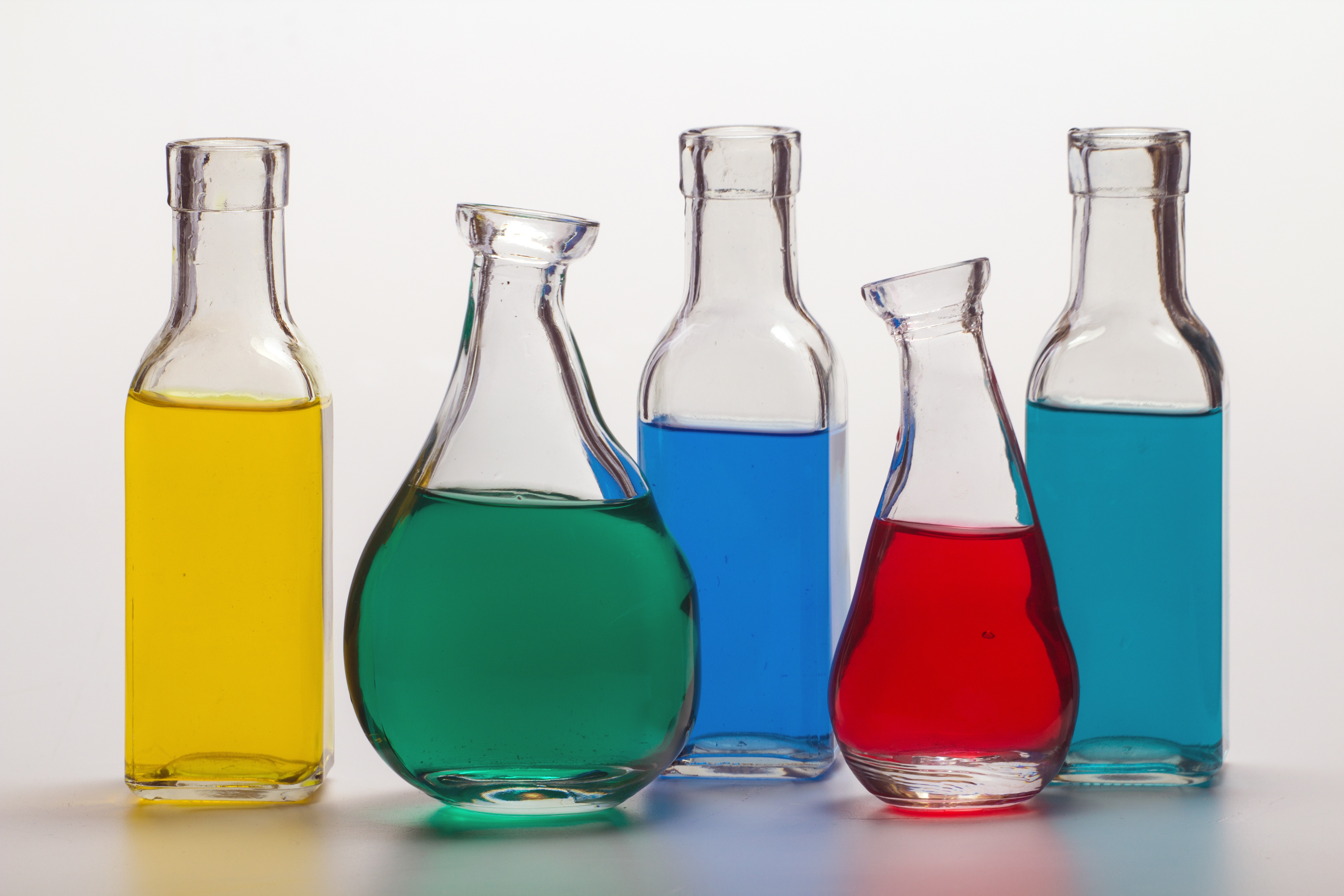 Clear Glass Chemical Bottle · Free Stock Photo
