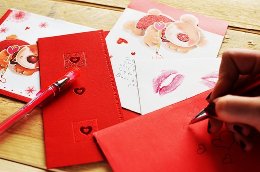 Free stock photo of love, writing, gift, letter