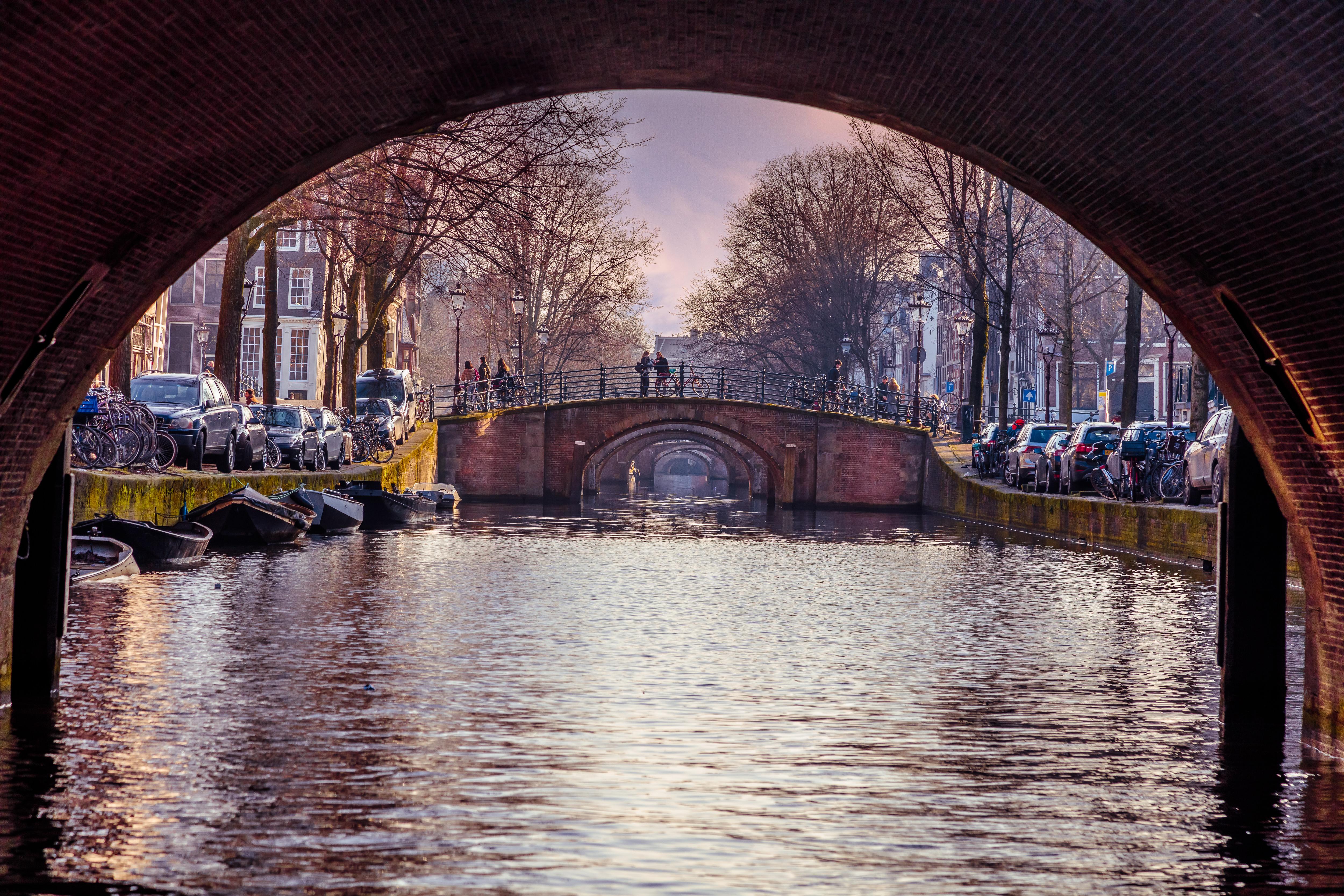 Free stock photo of amsterdam arch arch bridge for Design bridge amsterdam