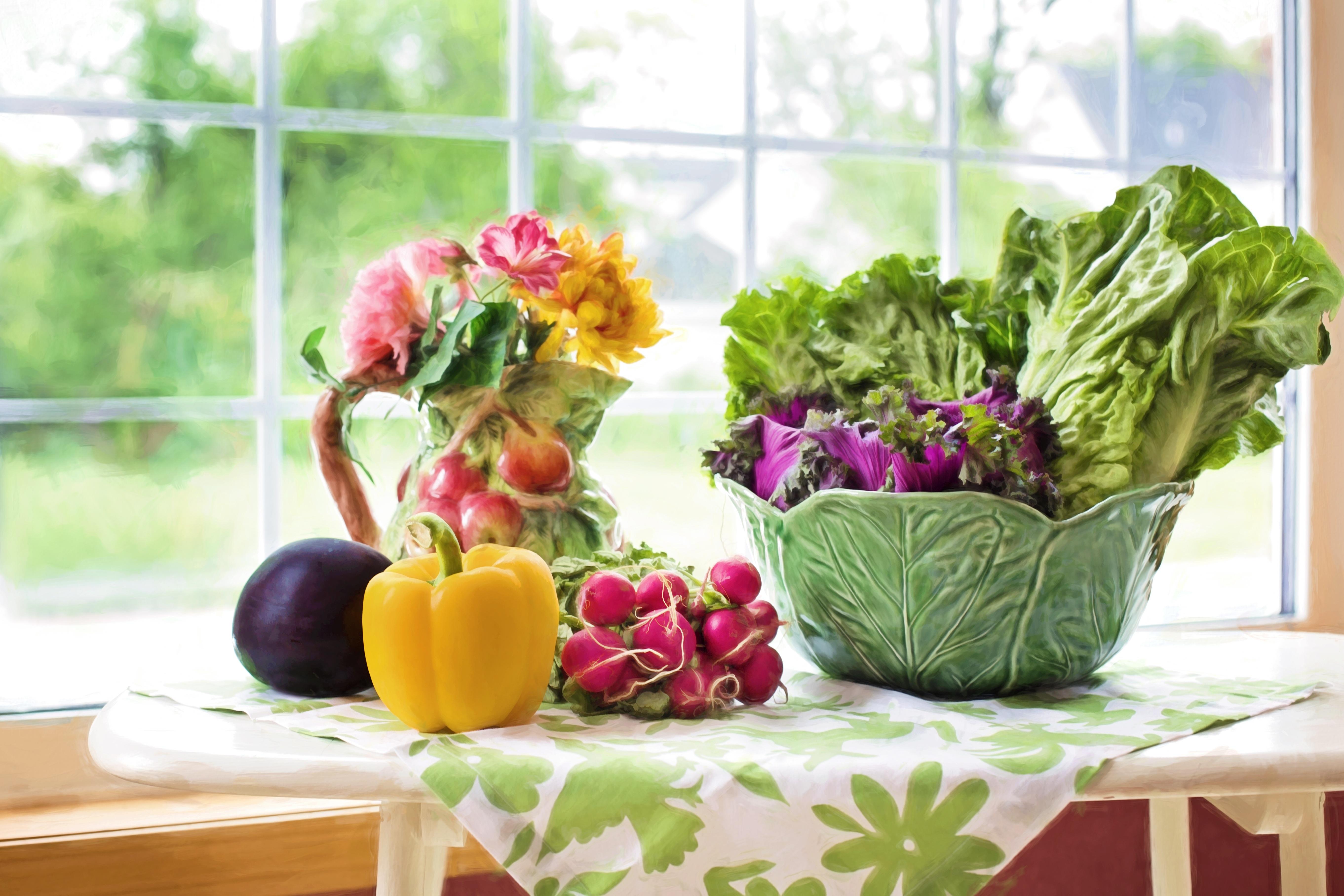 Voldoende groenten per dag is belangrijk voor een gezond leven