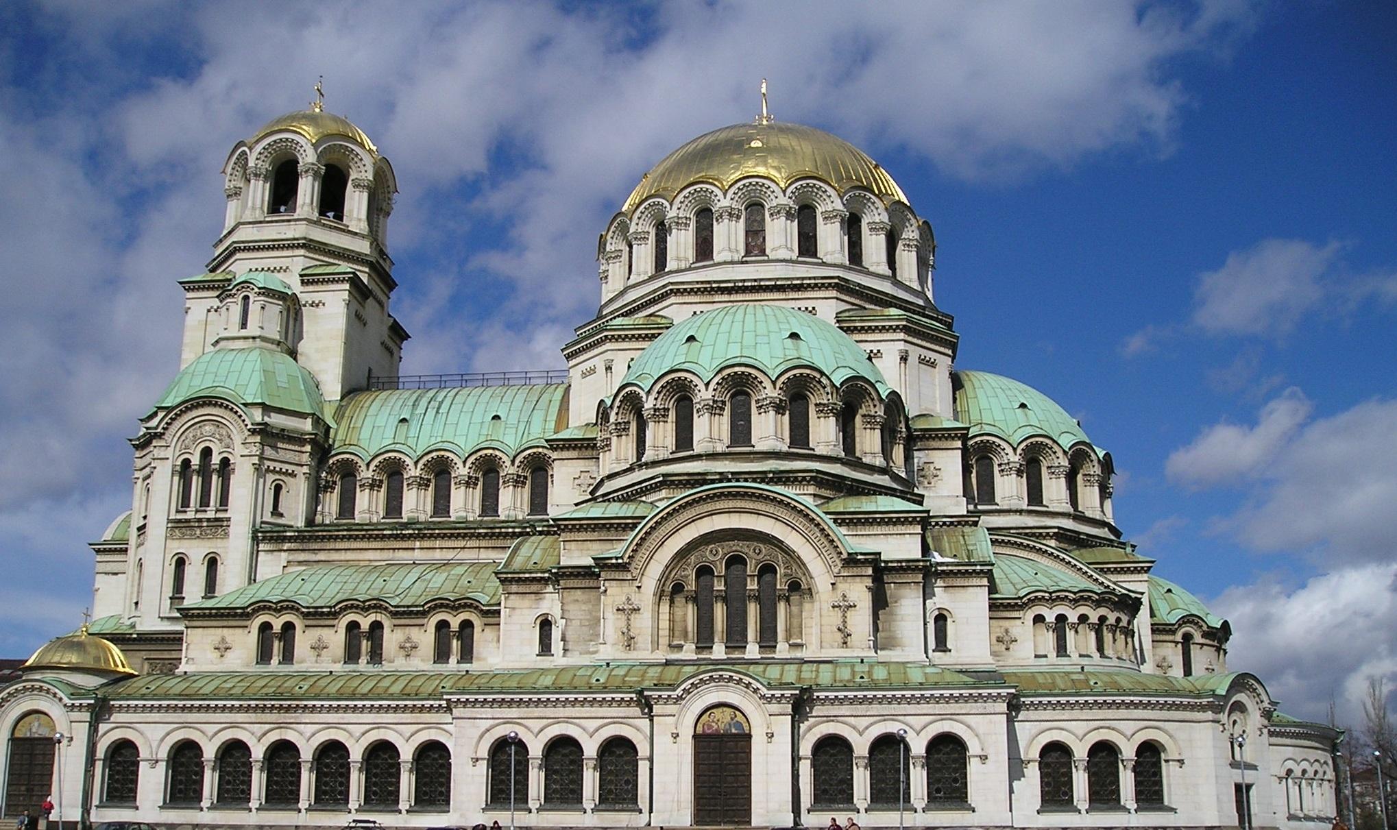 Free stock photo of alexander nevski balkans bulgaria for Architecture byzantine definition