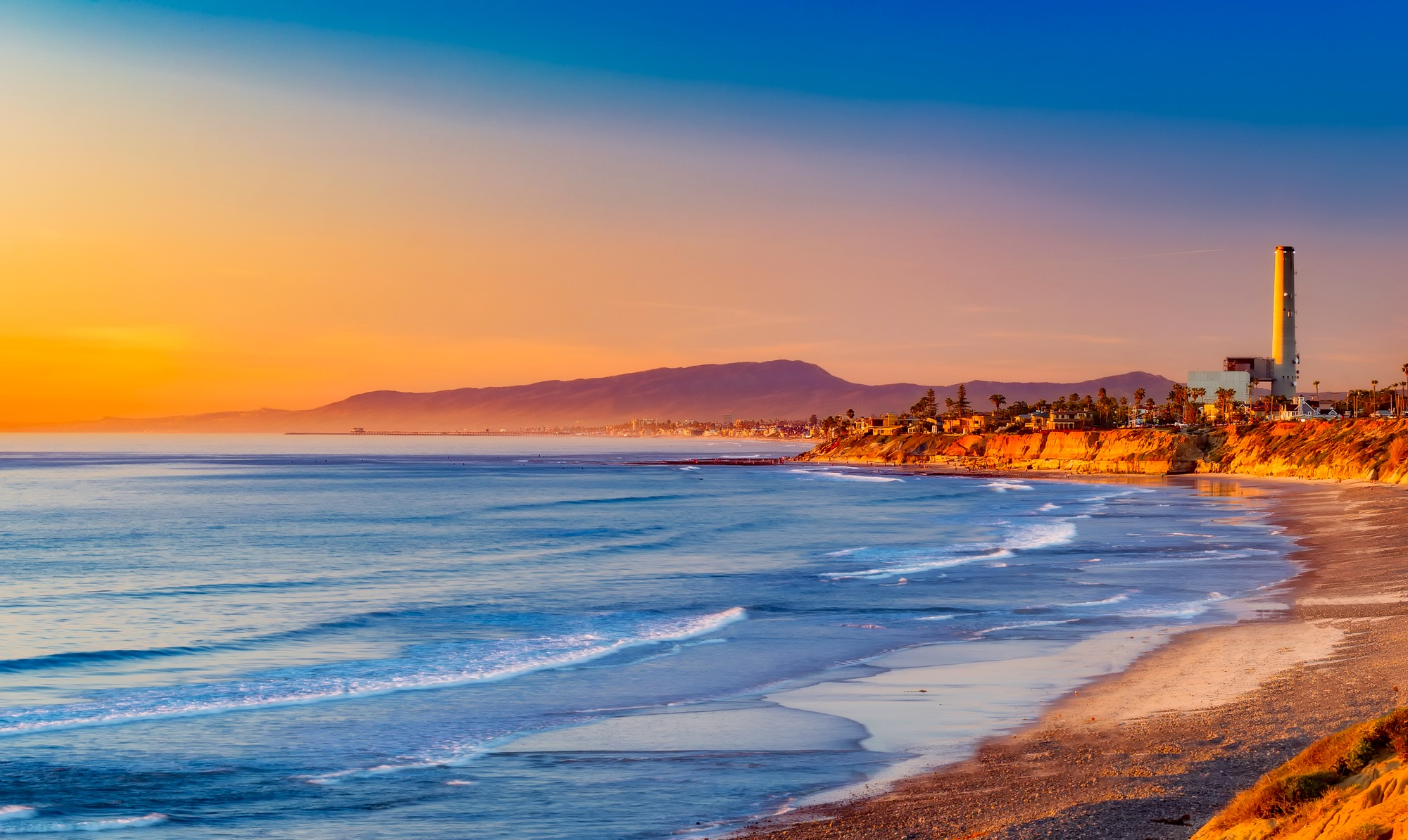 Free stock photo of beach beautiful california for Pretty beaches in california