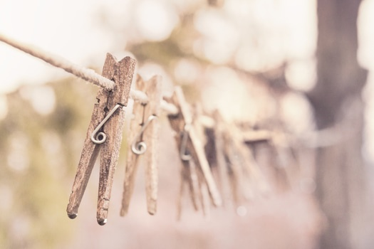 Free stock photo of wooden, laundry, washing, clothes line