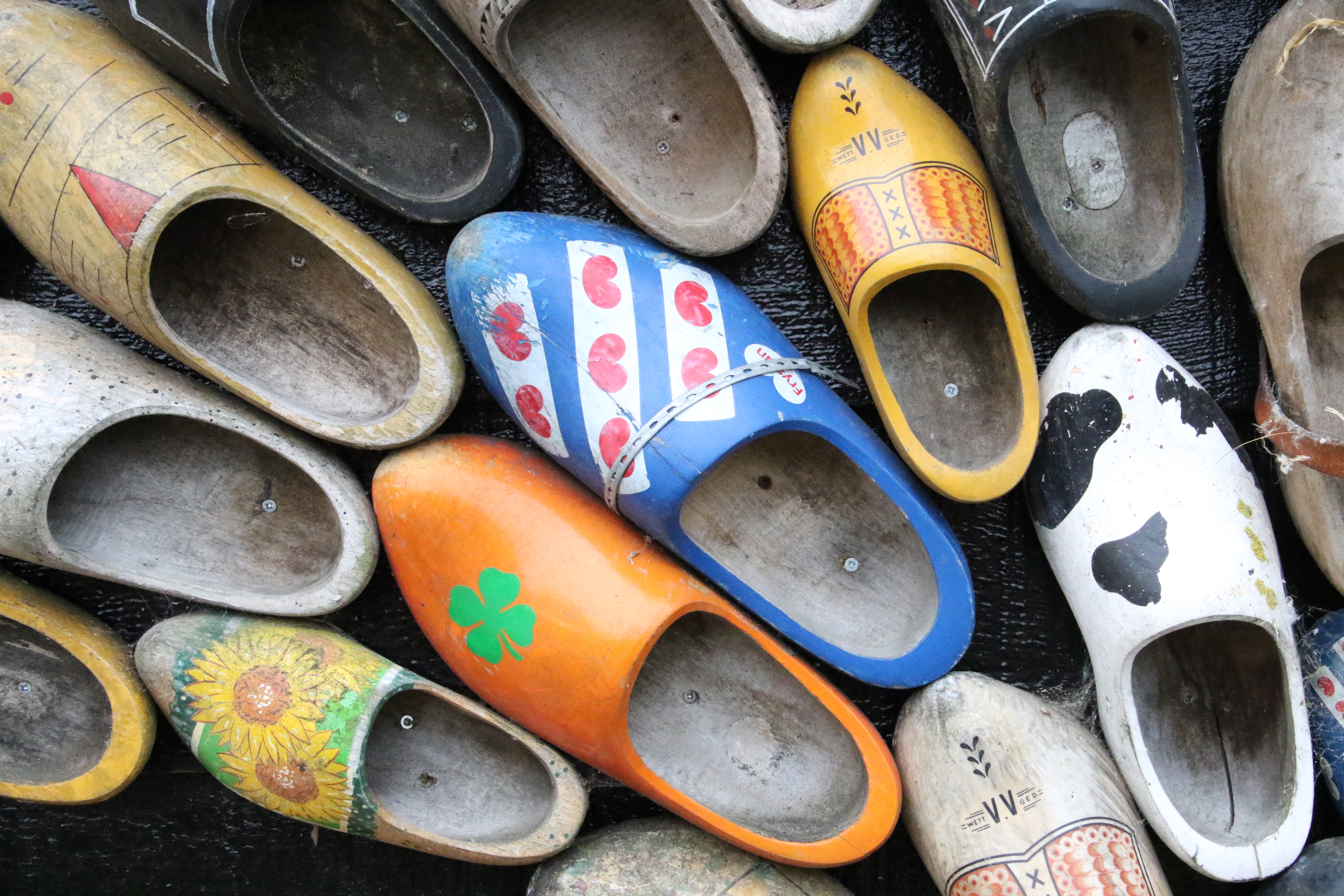 free stock photo of clogs dutch holland