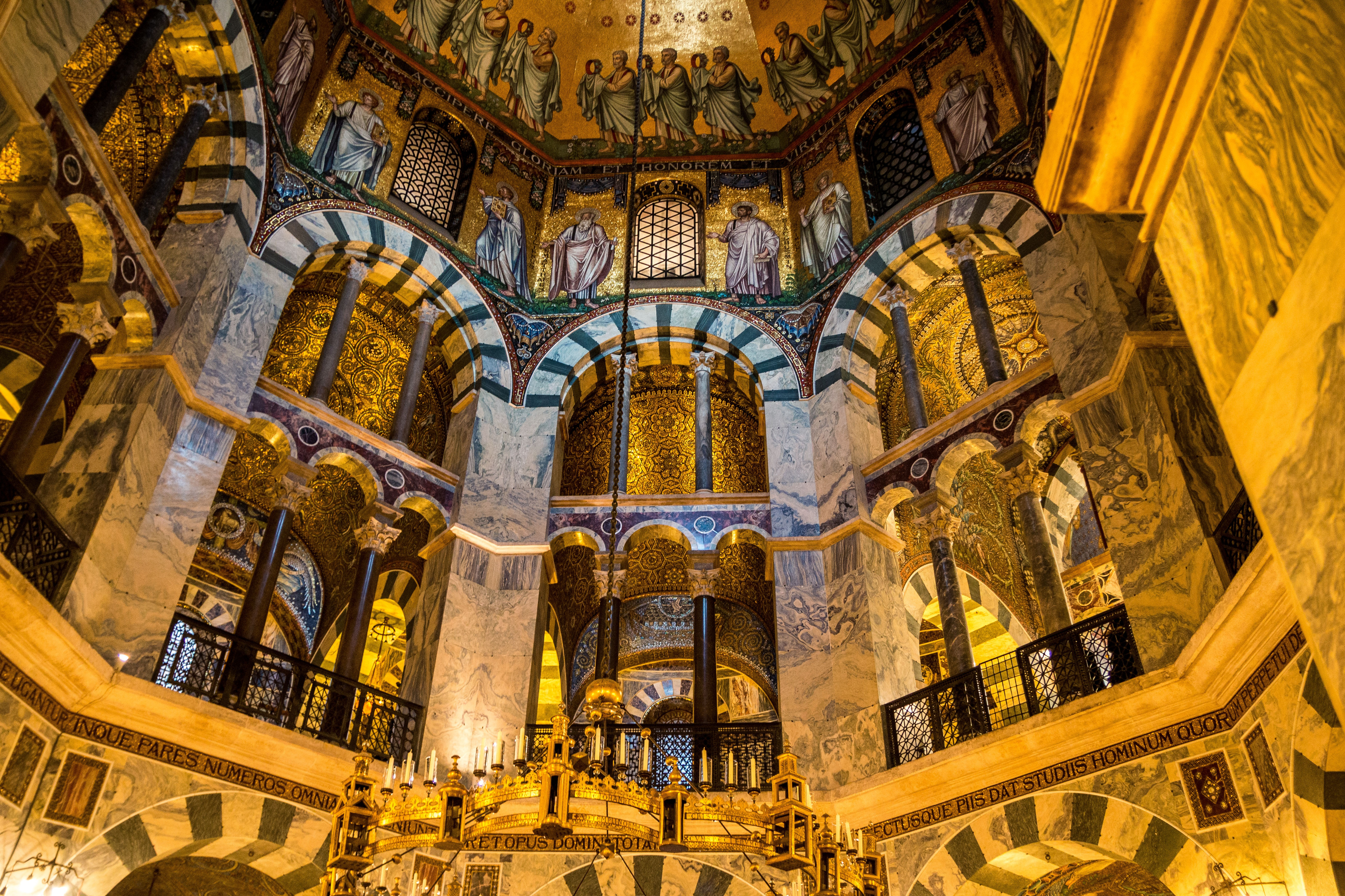 Free Stock Photo Of Aachen Aachen Cathedral Church