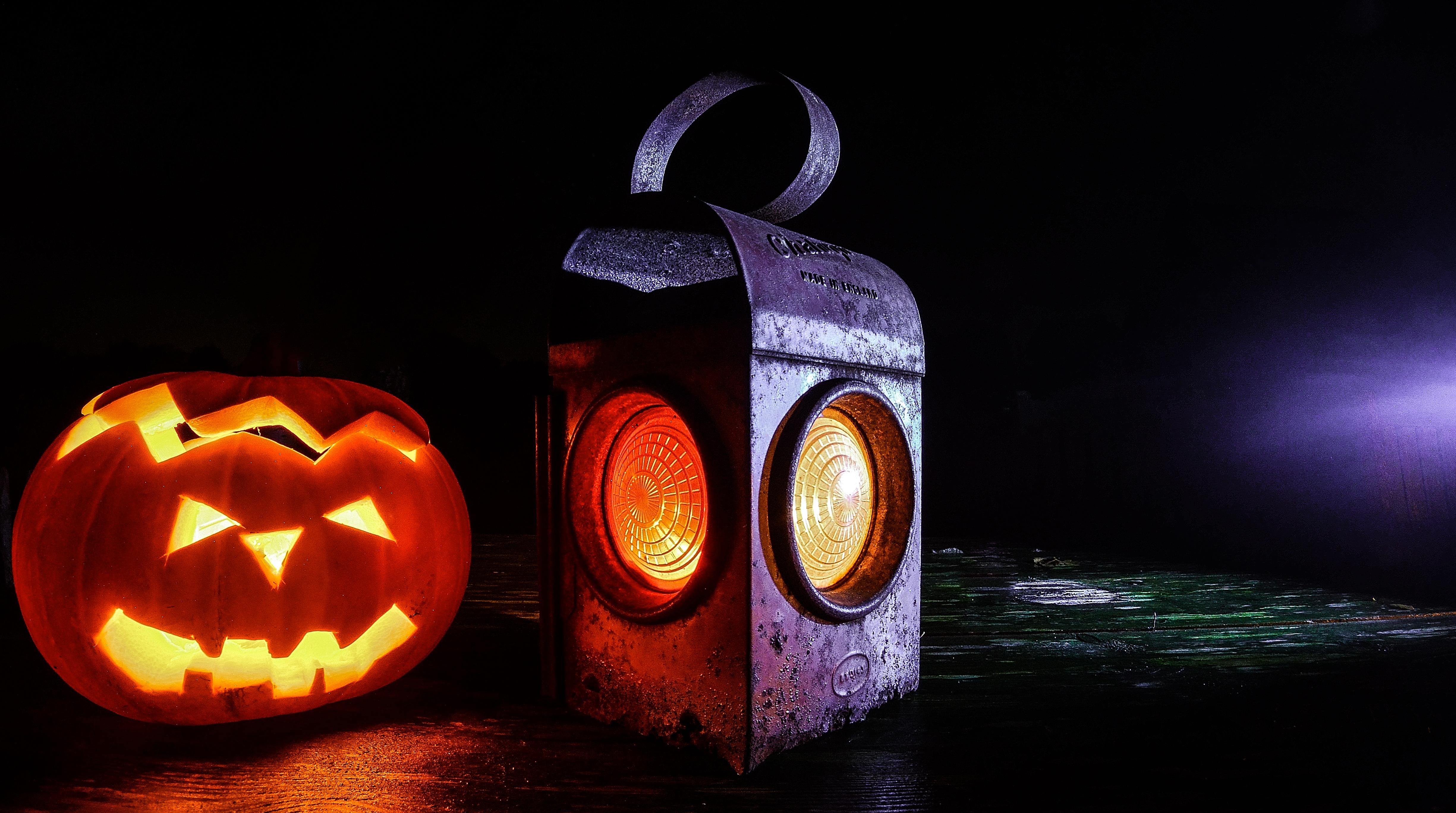 free stock photo of lamp halloween lantern pumpkin - Halloween Pitures