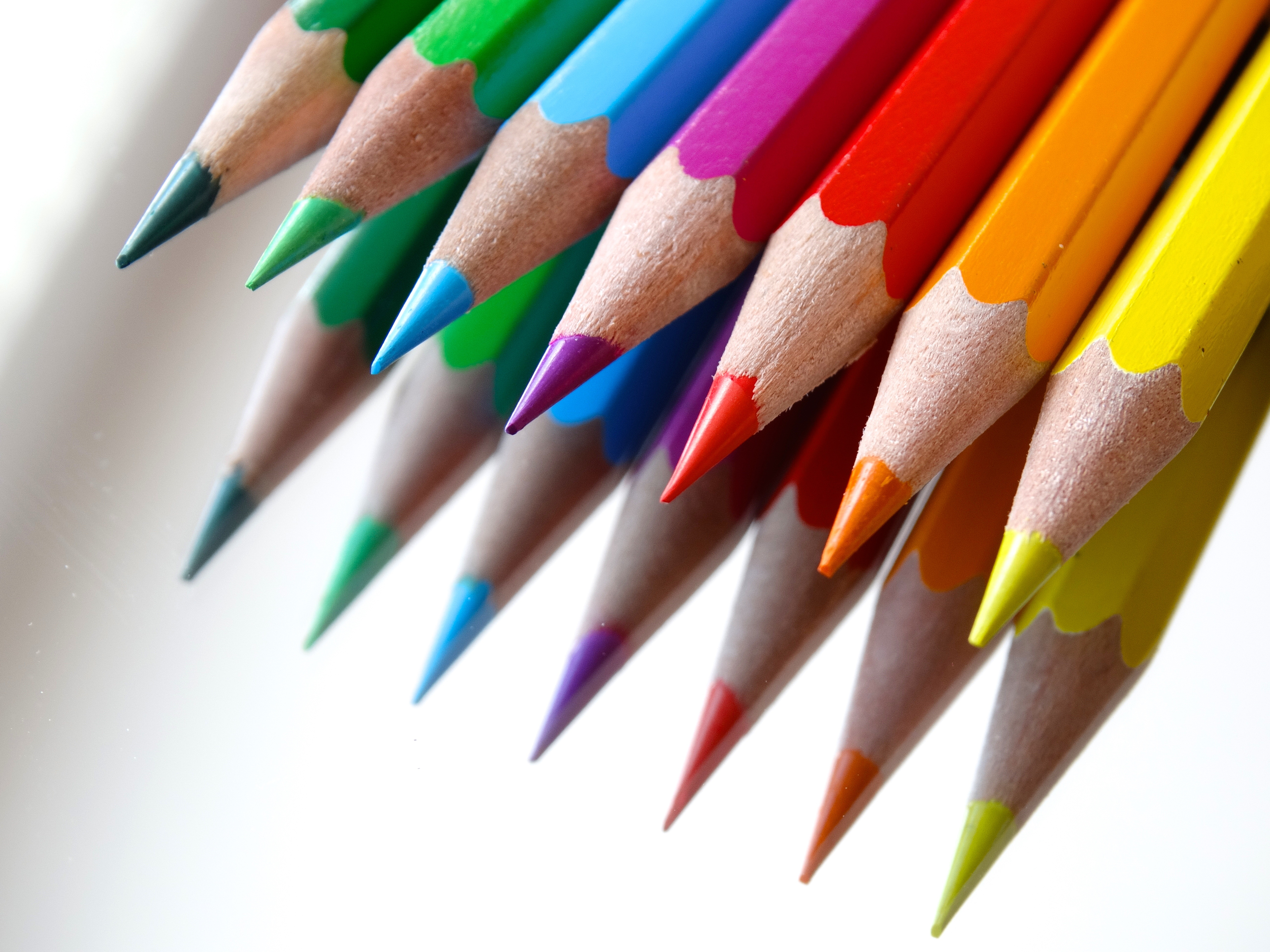 Art colored pencils - Free Stock Photo Of Art Pens School Colorful