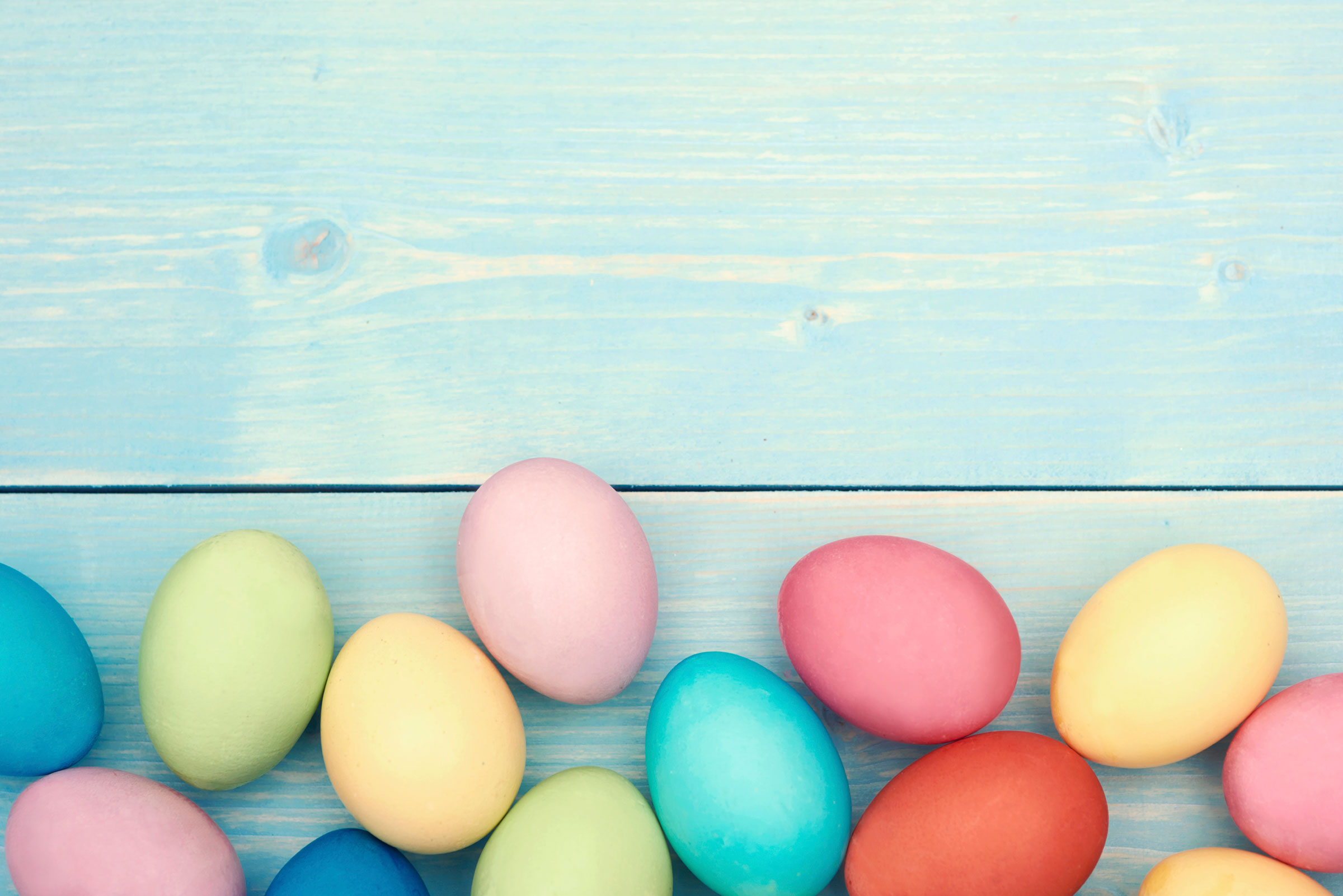 free stock photo of easter eggs