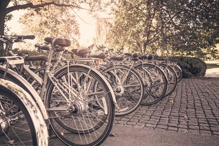 été, sport, vélos