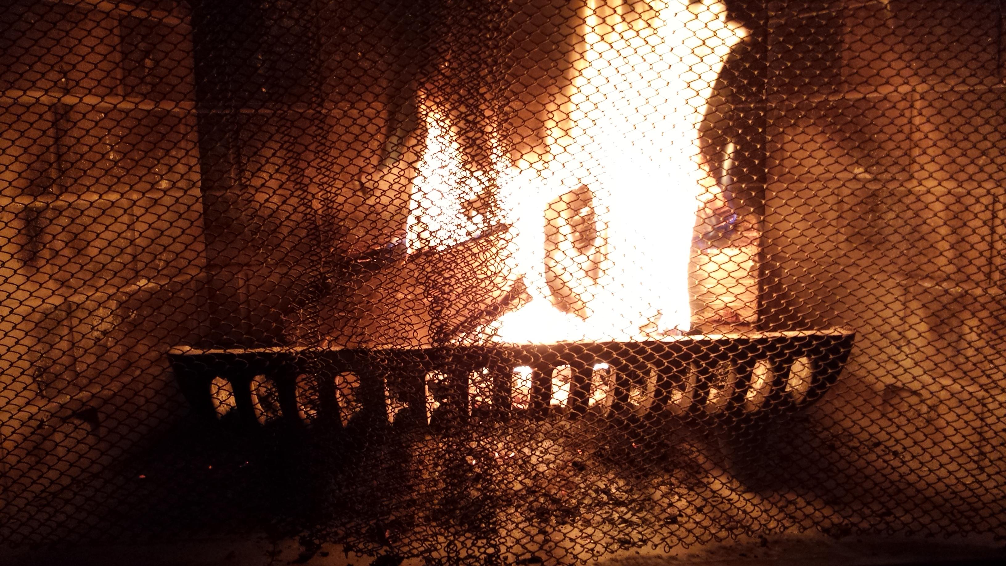 free stock photo of fire fireplace firewood