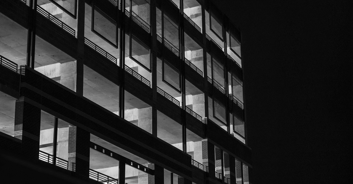 Free Stock Photo Of Black And White Building Garage