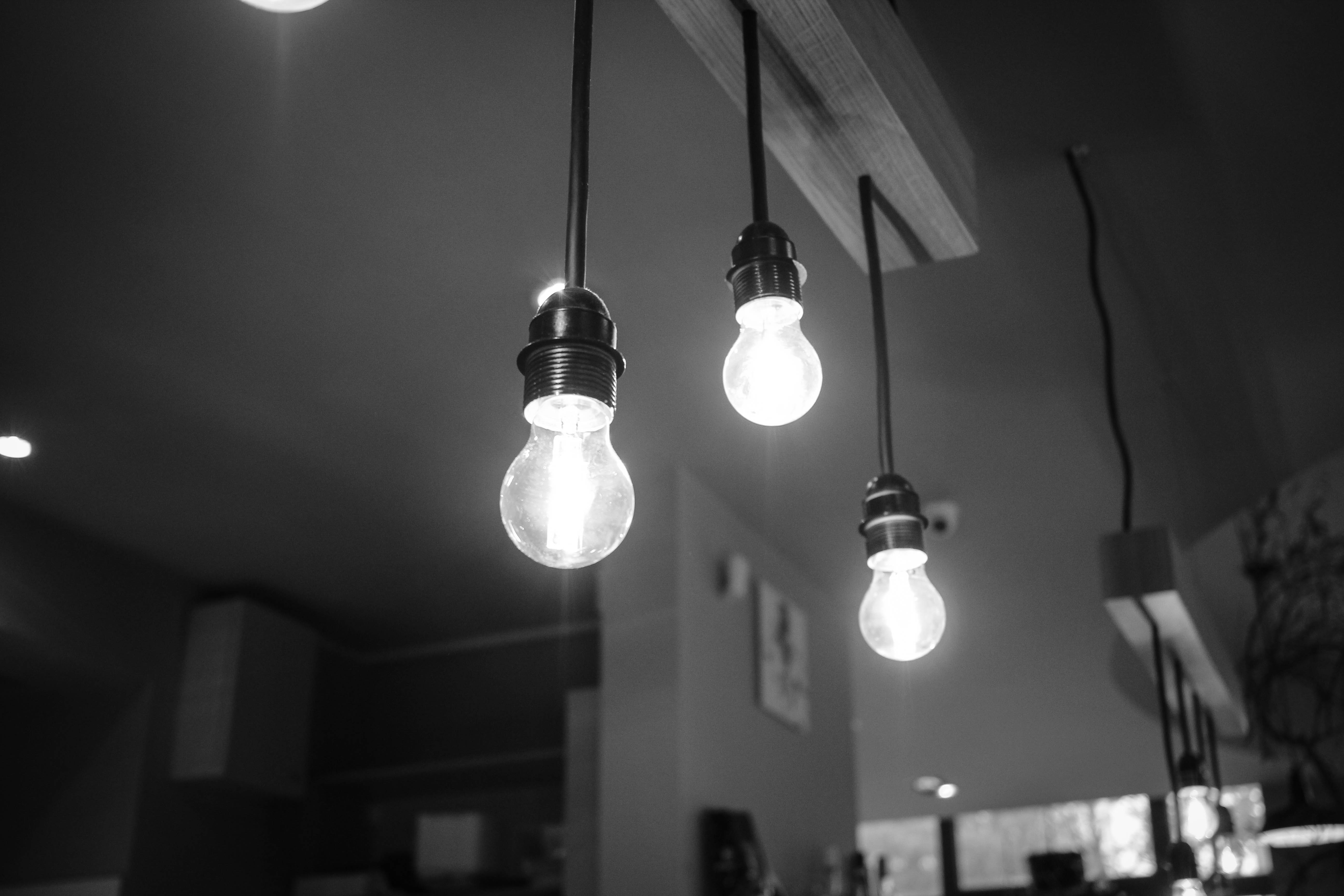 free stock photo of lights glass blur