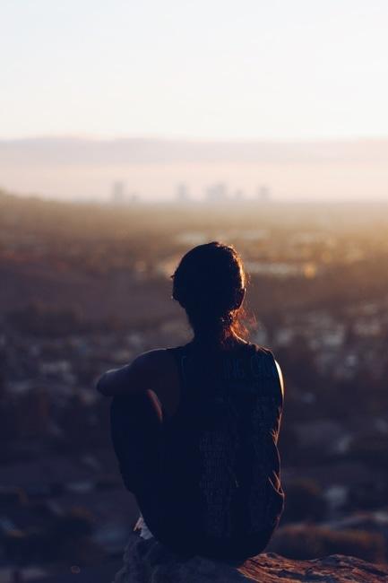 break, mindful, person