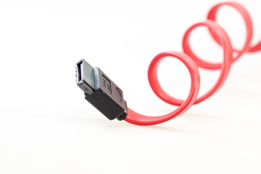 Red and Black Usb Cable