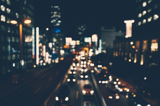 Free stock photo of city, cars, traffic, lights